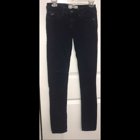 Hollister Denim - Navy Blue Skinny Jeans